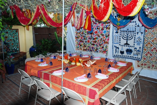 Picture of Sukkah of Sukkot 09