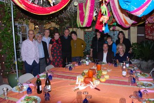 Picture of People at Sukkot Party