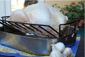 Picture of Garlic Roasted Turkey, Step 1