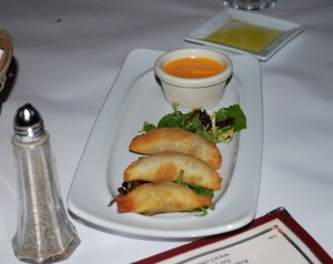 Picture of Mushroom empanadas at Le Marais