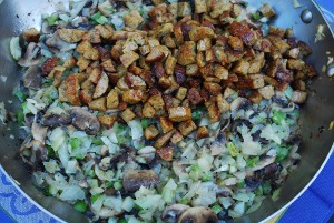 Picture of Stuffing with Cajun Sausage and Fennel, Step 2