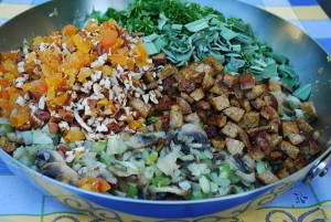 Picture of Stuffing with Cajun Sausage and Fennel, Step 3
