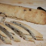 Hazelnut Biscotti with Chocolate Chips and Currants