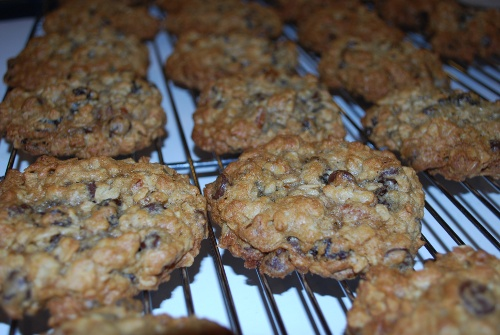 Picture of Jazzy Chunky Oatmeal Cookies