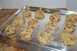 Picture of Jazzy Chunky Oatmeal Cookies, Step 2