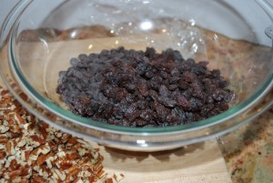 Picture of Raisins and Pecans