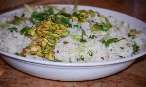 Picture of Rice Pilaf with Pistachios