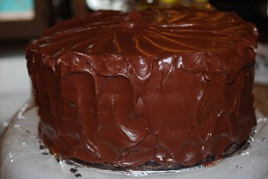 Picture of Chocolate Espresso Cake, Step 14 half-size