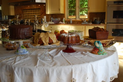Picture of Table of Desserts