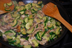 Picture of Sautéed Zucchini and Mushrooms