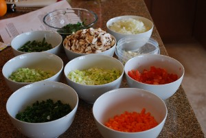 Picture of Ingredients for Osso Bucco