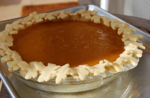 Picture of Dairy Free Pumpkin Pie, Step 9 half-size