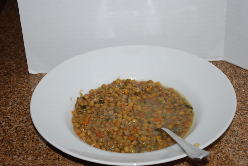 Picture of Weekday Lentil Soup