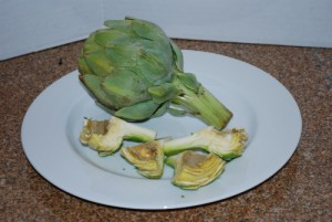 Picture of Pared Artichokes