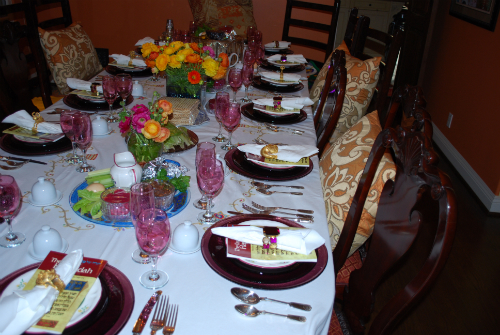 Passover 2010 Table 024