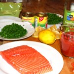 Sephardic Salmon for Passover