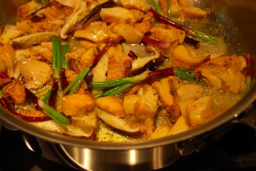 Passover chix stuffed vegies 039