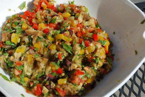 eggplant salad 022