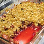 Cranberry, Pear, Apple Crisp