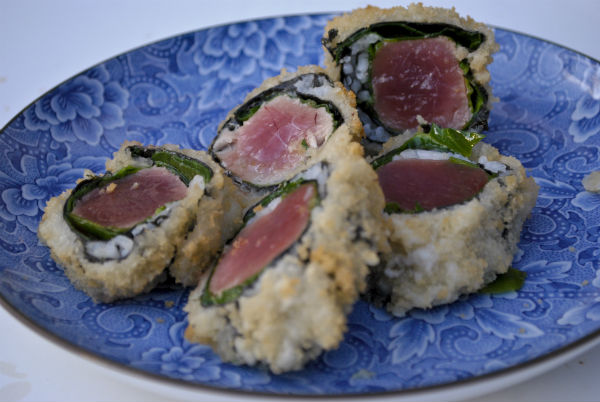 Tempura Battered Ahi Tuna Roll The Boreka Diary