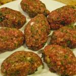 Beef Kufte, Grilled