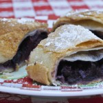 Bing Cherry and Pink Lady Apple Strudels