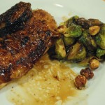 Brussels Sprouts and Date Salad