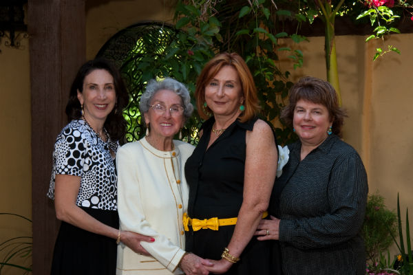 Capeloto Sisters with Nona at 90