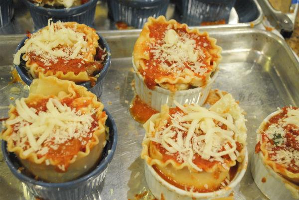 Vegie Lasagne and Individual Fritatta 029-3