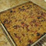 Pumpkin Cranberry Crumb Cake