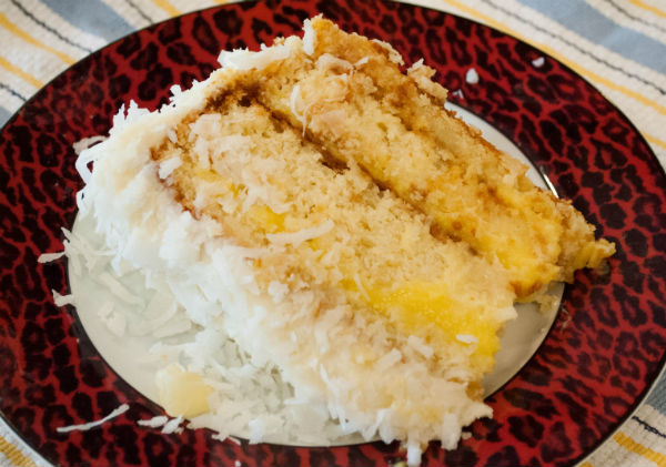 Pineapple Curd and Coconut Pineapple cake 049-2