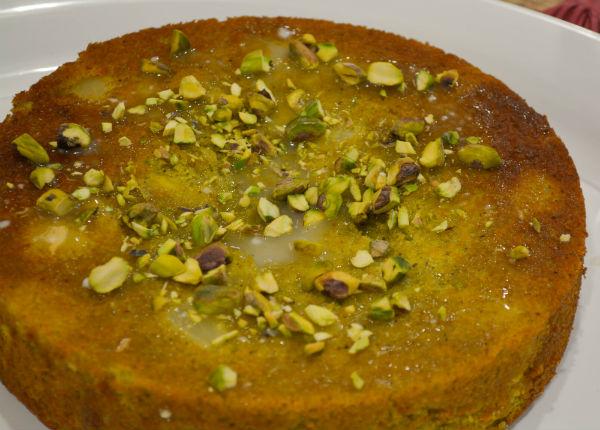 cipolle ripiene siluro pistacchio yogurt torta 028
