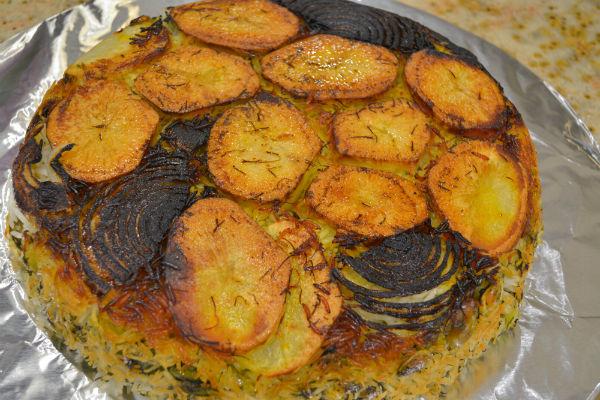 Challah borekas persian lima bean rice 043