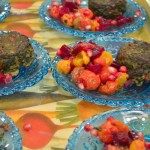 Spinach and Beet Green Rosh Hashanah Muffins