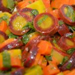 Rainbow Moroccan Carrot Salad